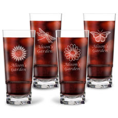 Personalized Tritan Acrylic Highball Set - Summer Collection