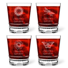 Personalized Tritan Acrylic Double Old Fashioned Set - Summer Collection