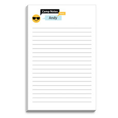 Emoji Sunglasses Speech Bubble Camp Notepads