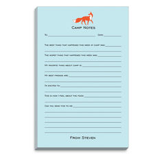 Blue Fox Fill In Camp Notepads