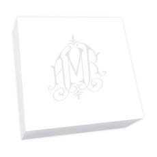 Henley Watercolor Monogram Chunky Pad