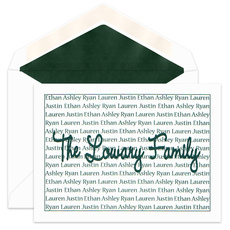 Wendy Family Pride Foldover Note Cards