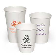 Design Your Own Halloween Paper Coffee Cups for Halloween
