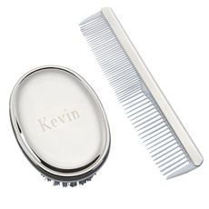 Baby Boy Comb and Brush Set