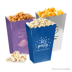 Design Your Own Mini Popcorn Boxes
