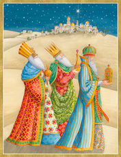 Three Kings Holiday Cards