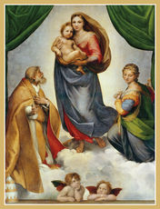 The Sistine Madonna Holiday Cards