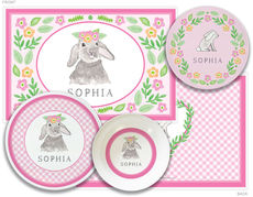 Bunny Love 4-Piece Dinnerware Set