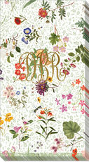 English Country Garden Caspari Guest Towels