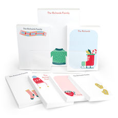 Winter Memories Notepad Collection