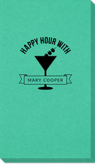 Happy Hour Martini Linen Like Guest Towels