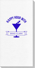 Happy Hour Martini Luxury Deville Guest Towels