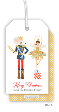 King and Sugar Plum Fairy Hanging Gift Tags