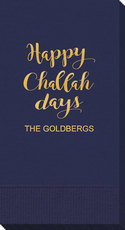 Happy Challah Days Guest Towels