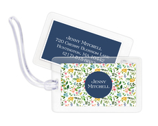 Spring Buds Luggage Tags