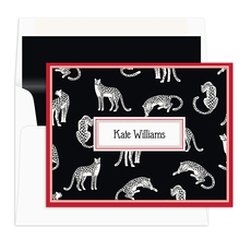 Wild Cheetah Folded Note Cards