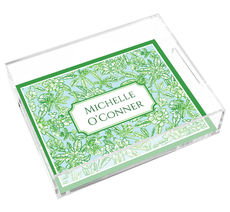 Chateau Garden Lucite Tray