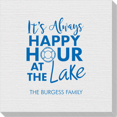 Happy Hour at the Lake Linen Like Napkins