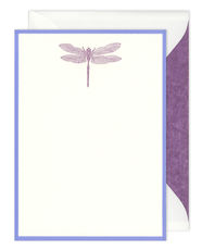 Letterpress Dragonfly Boxed Note Cards