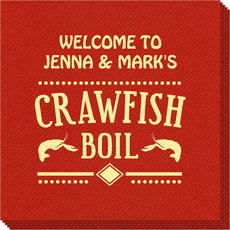 Crawfish Boil Linen Like Napkins