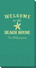 Welcome to the Beach House Guest Towels