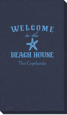 Welcome to the Beach House Linen Like Guest Towels