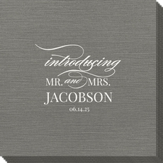 Introducing Mr. and Mrs. Bamboo Luxe Napkins