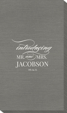 Introducing Mr. and Mrs. Bamboo Luxe Guest Towels