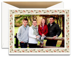 Florentine Border Photo Cards