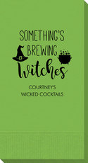Something's Brewing Witches Guest Towels