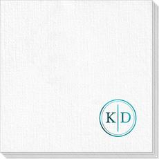 Petite Dotted Circle Duogram Deville Napkins