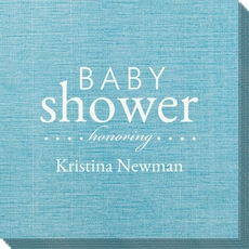 Baby Shower Honoring Bamboo Luxe Napkins