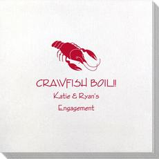 Crawfish Bamboo Luxe Napkins