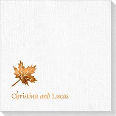 Little Autumn Leaf Deville Napkins