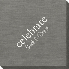 Big Word Celebrate Bamboo Luxe Napkins
