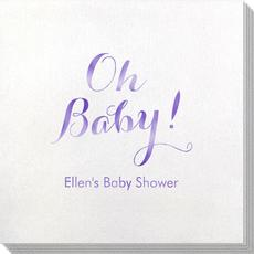 Elegant Oh Baby Bamboo Luxe Napkins