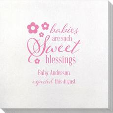 Sweet Blessings Bamboo Luxe Napkins