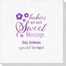 Sweet Blessings Deville Napkins