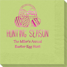 Hunting Season Easter Napkins
