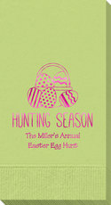 Hunting Season Easter Guest Towels