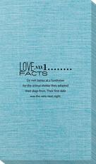 Just the Love Facts Bamboo Luxe Guest Towels