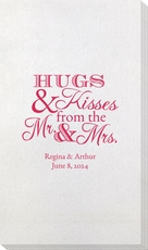 Hugs and Kisses Bamboo Luxe Guest Towels