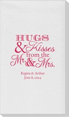 Hugs and Kisses Linen Like Guest Towels