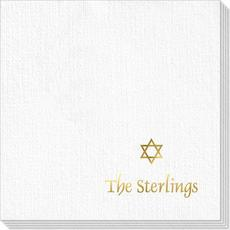 Little Star of David Deville Napkins