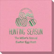 Hunting Season Easter Linen Like Napkins