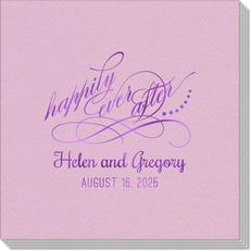 Happily Ever After Linen Like Napkins