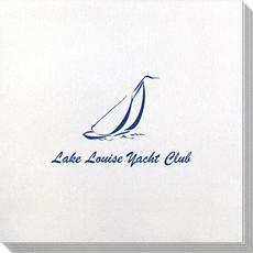 Sailboat Clipper Bamboo Luxe Napkins
