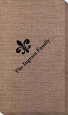 Traditional Fleur-de-Lis Bamboo Luxe Guest Towels