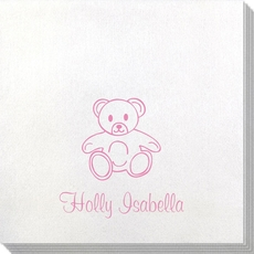 Little Teddy Bear Bamboo Luxe Napkins
