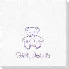 Little Teddy Bear Deville Napkins